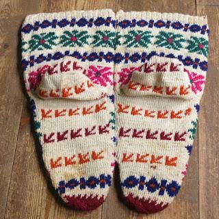 yün çoraplar