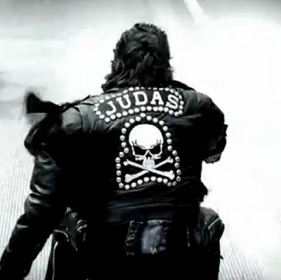 imagem de judas motoqueiro