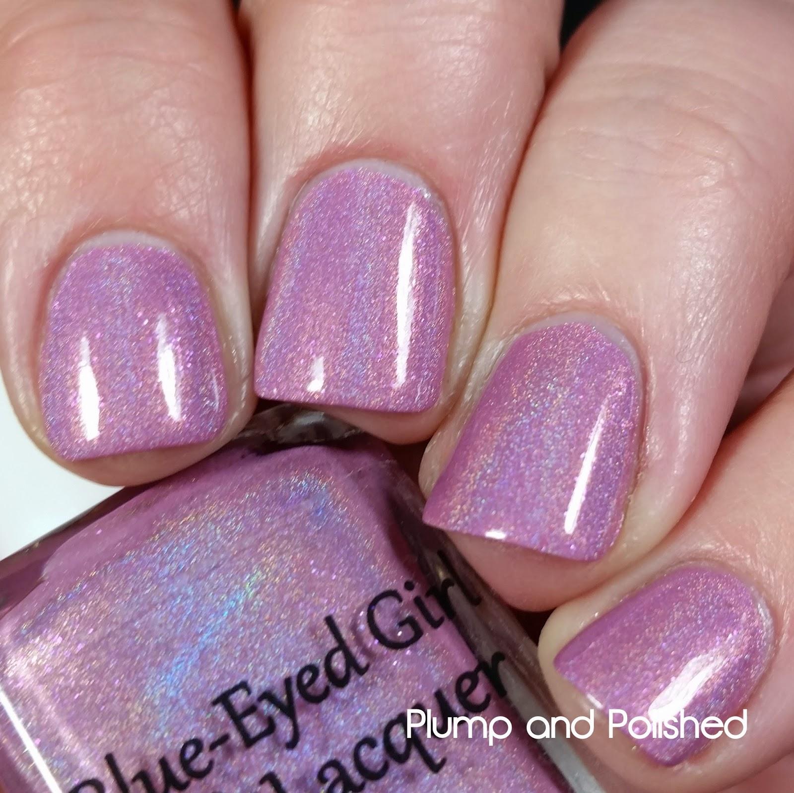 Blue-Eyed Girl Lacquer - Kaffir Lily