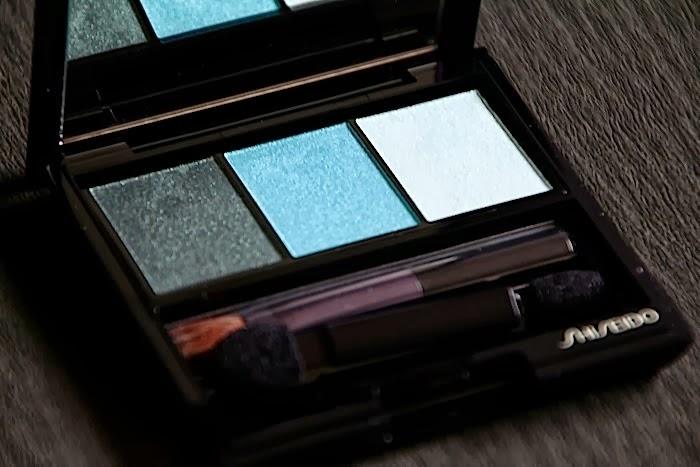 shiseido palette automne 2013 gr412 lido test swatch avis