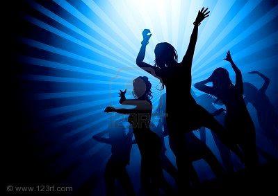 foto mujer discoteca: