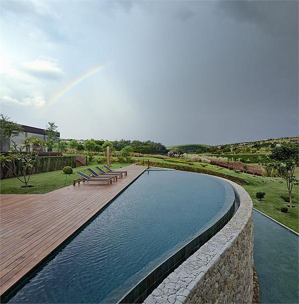 Casas minimalistas y modernas piscinas modernas y for Piscinas modernas minimalistas
