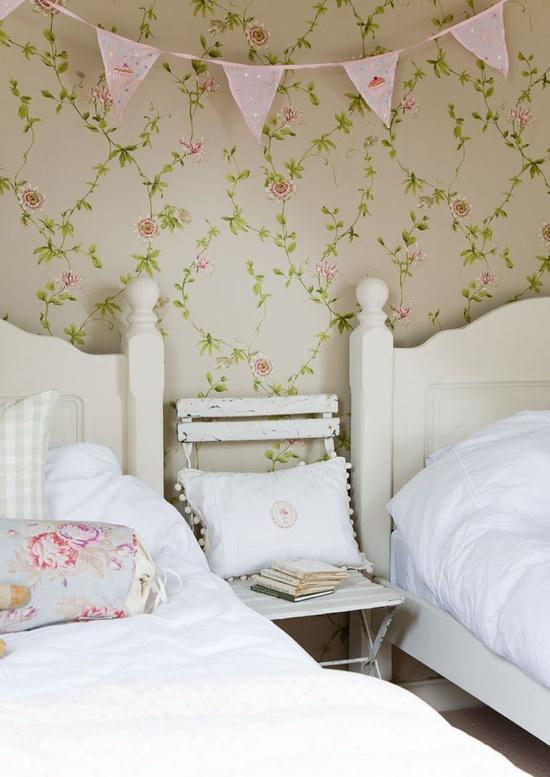 Papel pintado en el dormitorio las mejores ideas - Papel para dormitorio ...