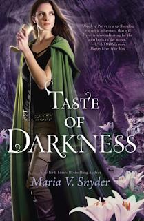 Taste of Darkness Maria V Snyder book cover