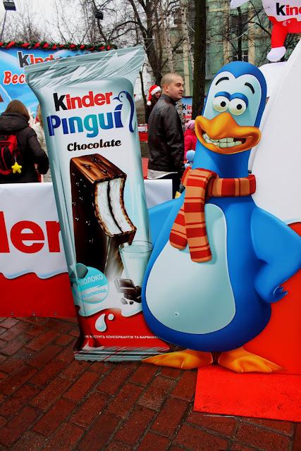 Реклама Киндер пингвин
