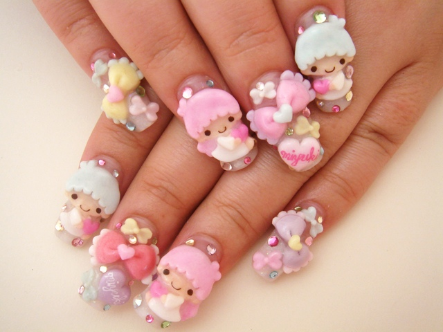 Japanese Nail Designs ~ Beautiful Nails And Color