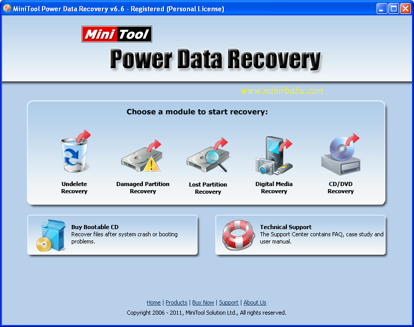 minitool power data recovery software free download with crack
