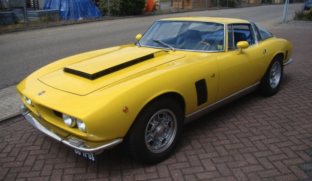 the yellow color with the blue leather interior are striking it does not have the original engine but has a 454 cid chevrolet crate engine and an automatic
