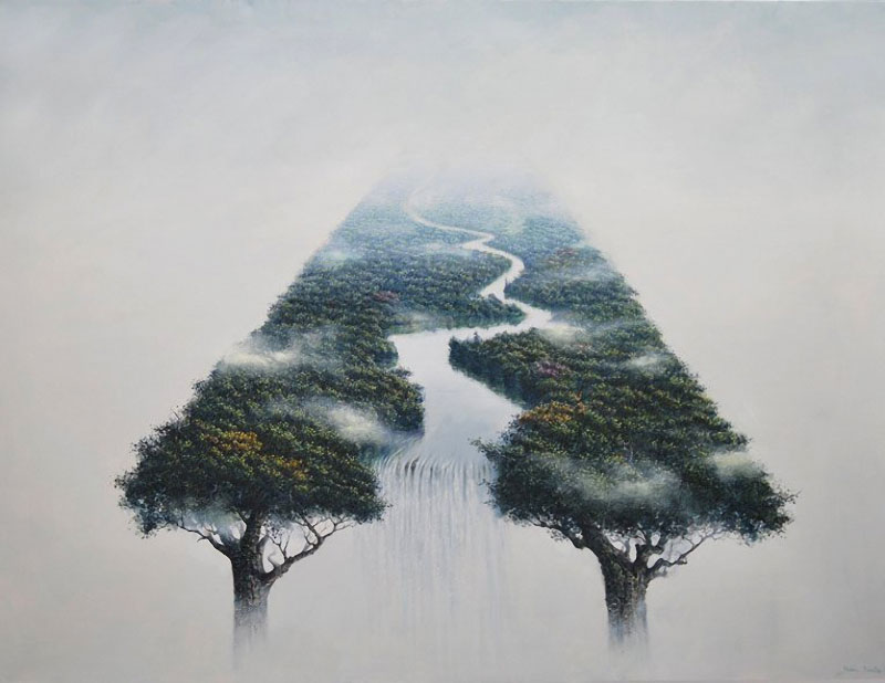 Mind Landscapes Paintings By Rubn Fuentes