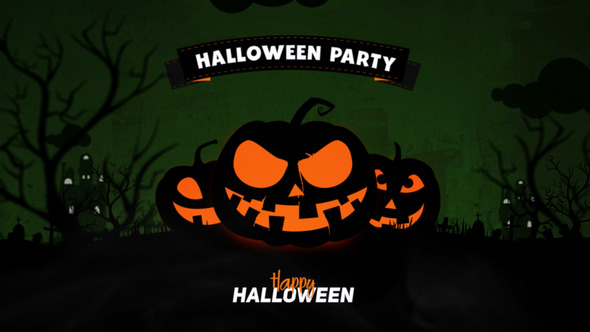 VideoHive Halloween Party Opener
