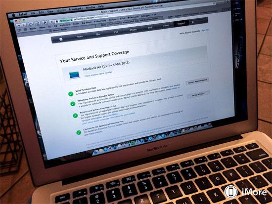 Apple tips Cách kiểm tra bảo hành các thiết bị của Apple