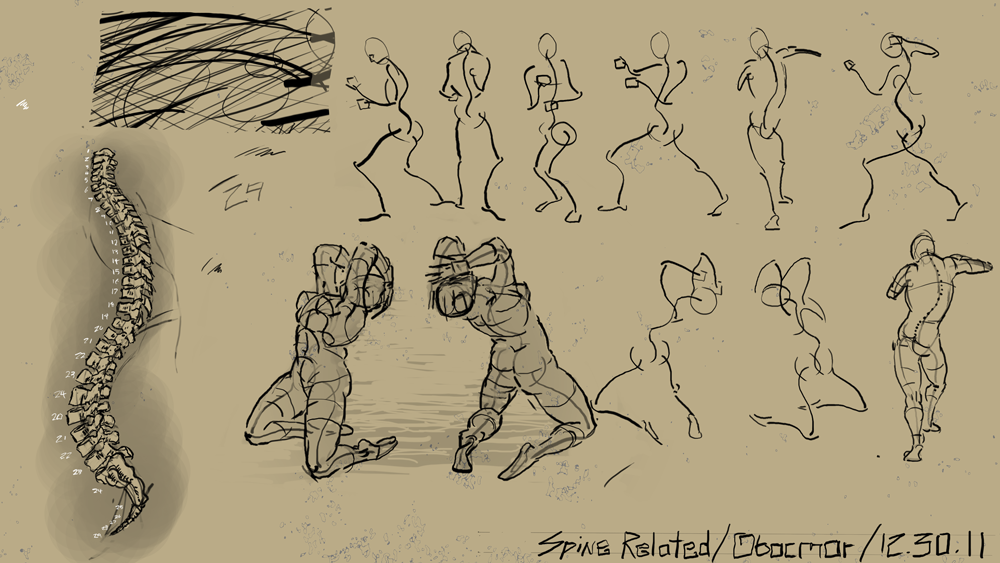 "Spartan Camp #207 - 50 gestures + Optional ""Spine Study"""