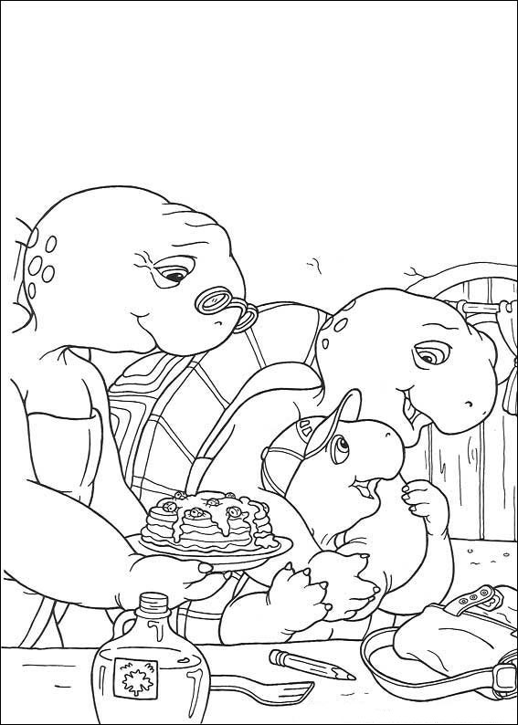 Krafty Kidz Center Franklin The Turtle Coloring Pages Franklin The Turtle Coloring Pages