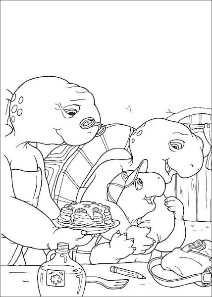 Franklin Turtle Coloring Pages