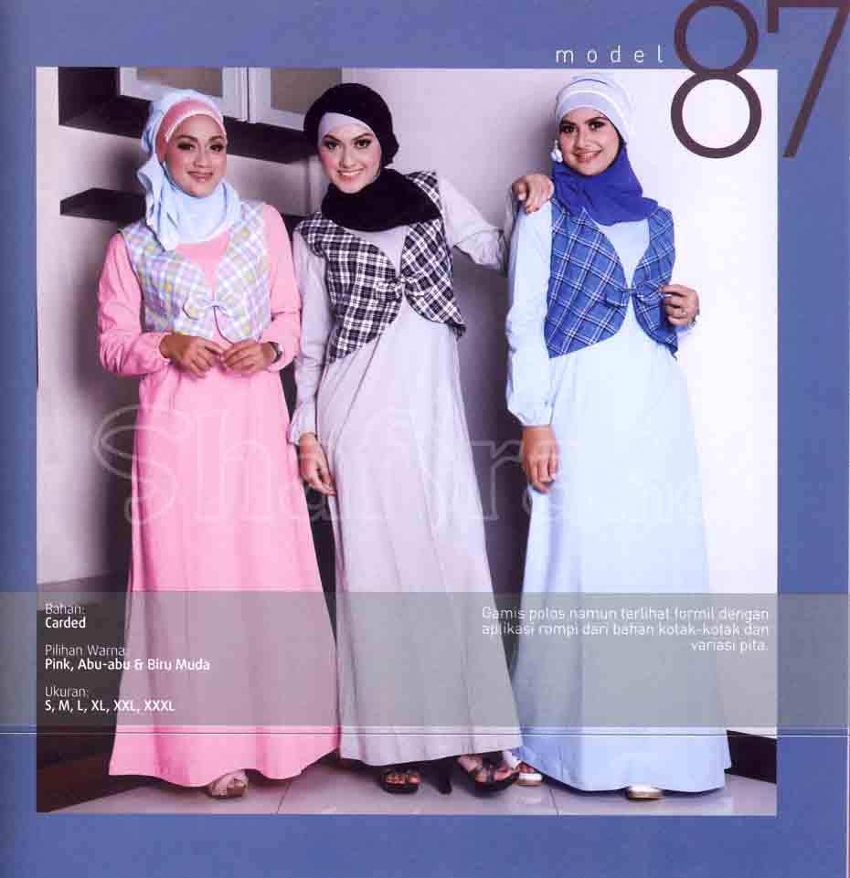 Qirani model baru 2012 beli 1 disc 10 wafiq griya Baju gamis elif