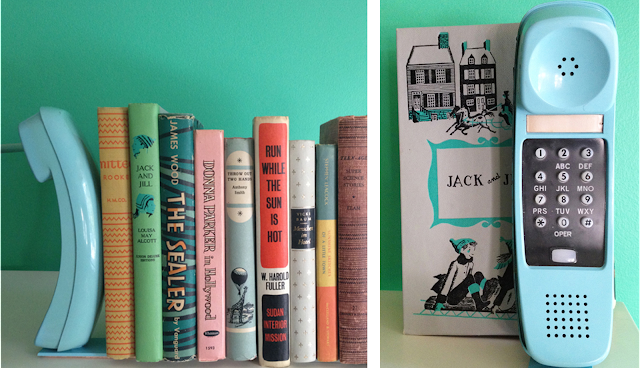 Vintage Telephone Bookends: Our 8 Favorite Upcycled DIY's for Your Home