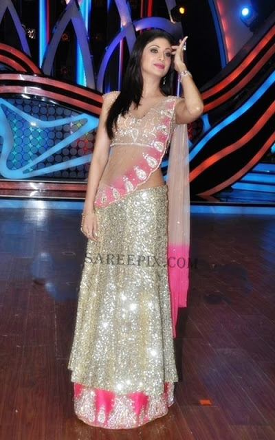 Shilpa-Shetty-designer-Lehenga-Nach-Baliye-5-Grand-Finale