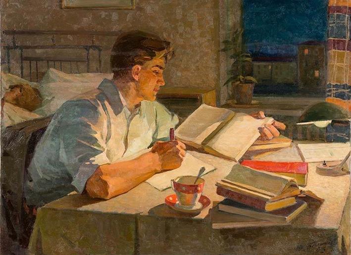 Баликов Ю.Е. Заочник. 1969