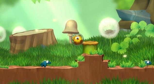 Screenshot of Wii U eShop game Toki Tori 2