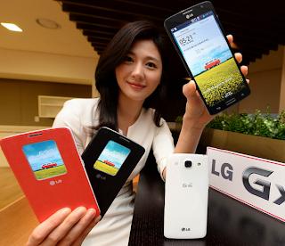 LG GX Smartphone with Quad-Core Processor