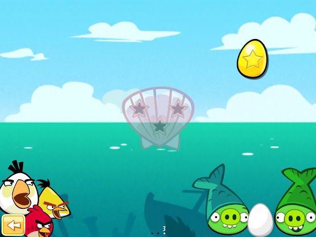 Angry Birds Seasons: Piglantis - Golden Eggs