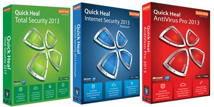 Quick Heal AntiVirus Pro 2013 with 4 Months built in Latest Software Product Key Free Download 32 64 Bit OS