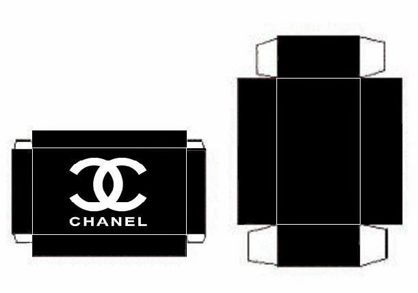 Nice Free Printable Chanel Boxes. | Is it for PARTIES? Is it FREE? Is it CUTE? Has QUALITY? It´s ...