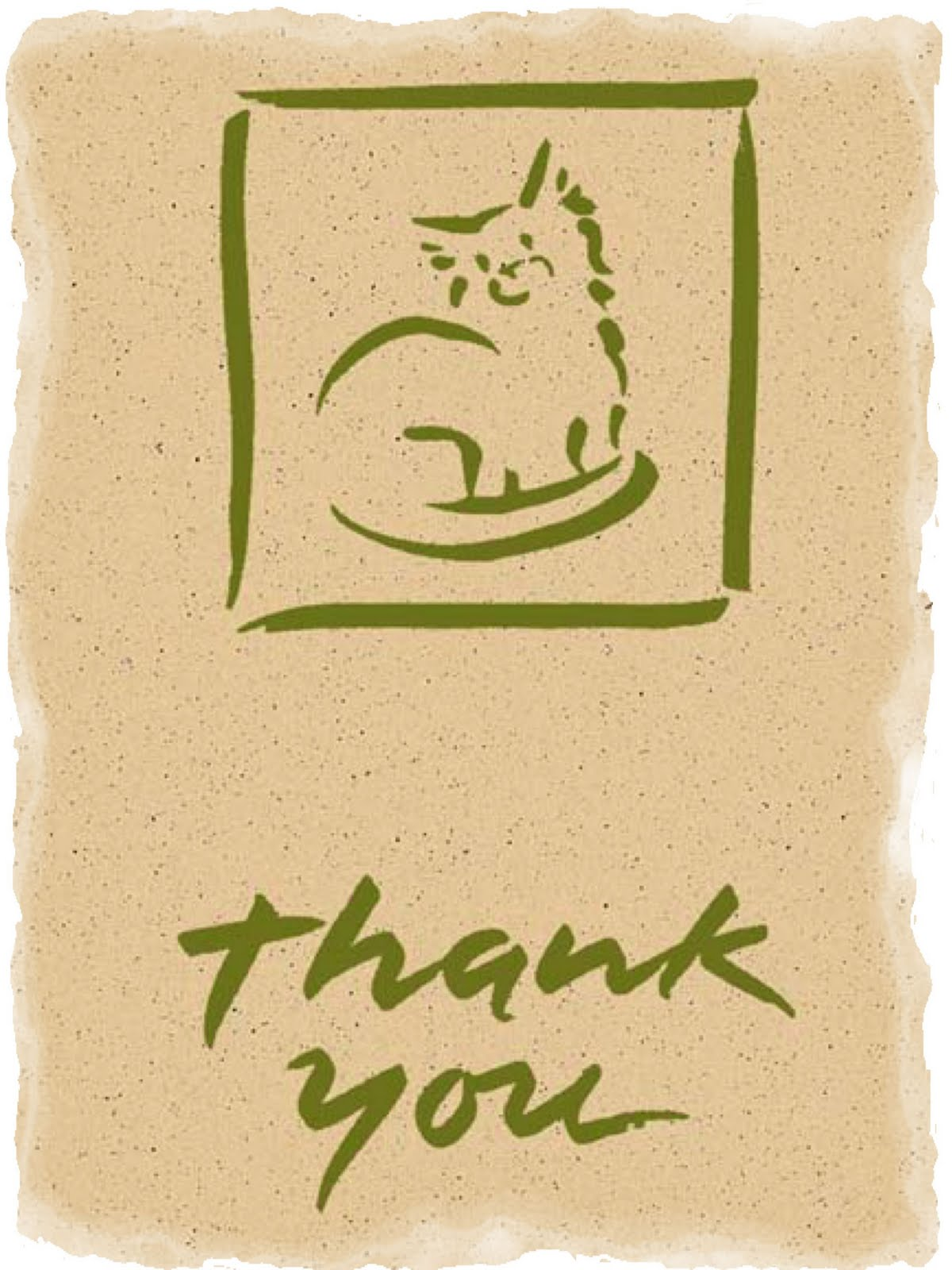 cat thank you