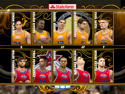 NBA 2K13 European Teams Mod