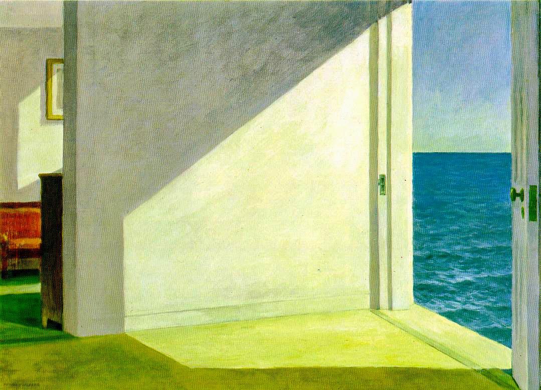 Scuola popolare di filosofia roma aprile 2014 for Hopper finestra sul mare