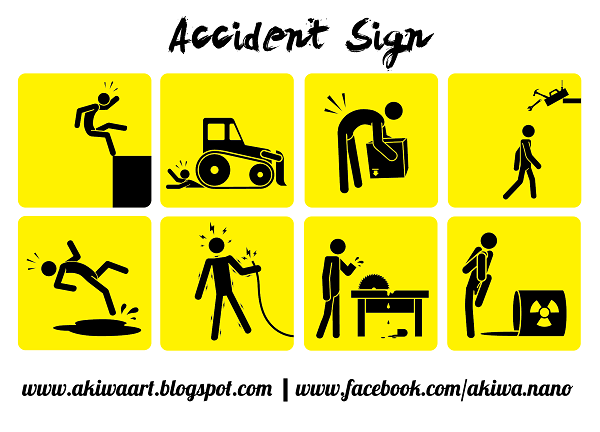 Free Vector Accident Sign