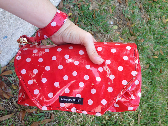 Wipe Me Cute Diaper Clutch