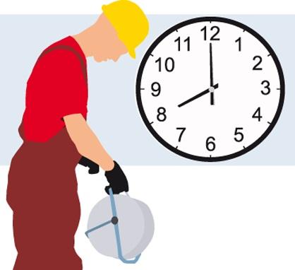 horario laboral empresa: