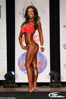 Denise Milani bikini competition