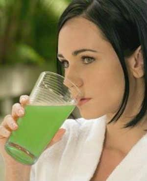 suco-verde-para-cabelos-oleosos