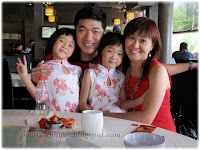 David, Kellie and their twin girls, Renice and Renee