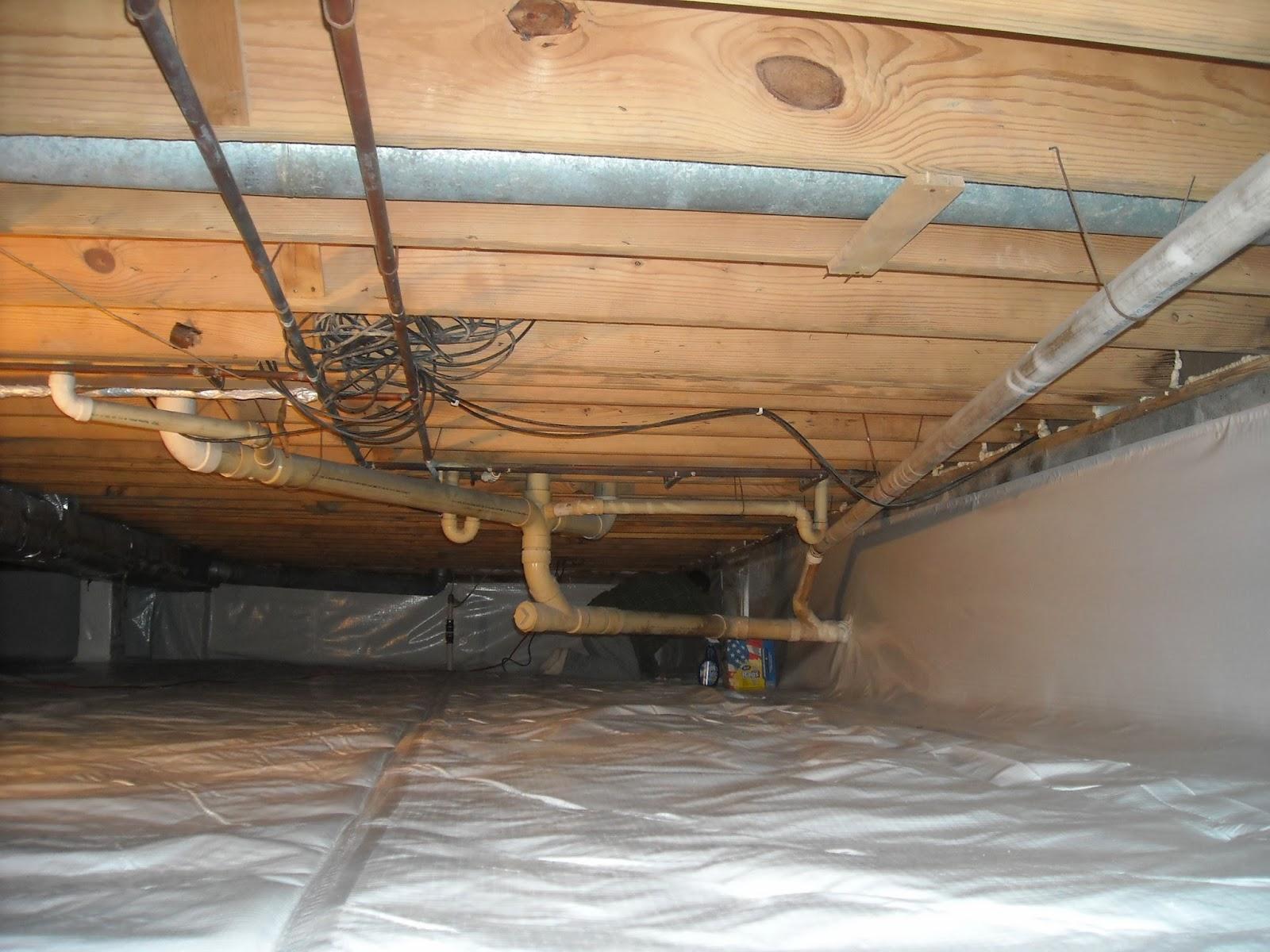 Crawl Space Insulation : Indiana crawlspace repair and waterproofing november