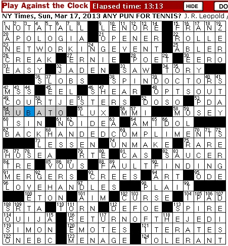 Complains Whiningly Crossword Clue