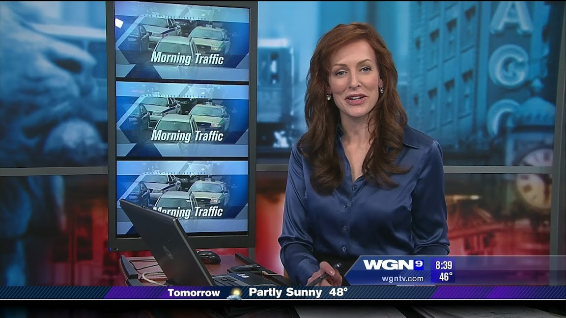 Erin McElroy WGN Traffic