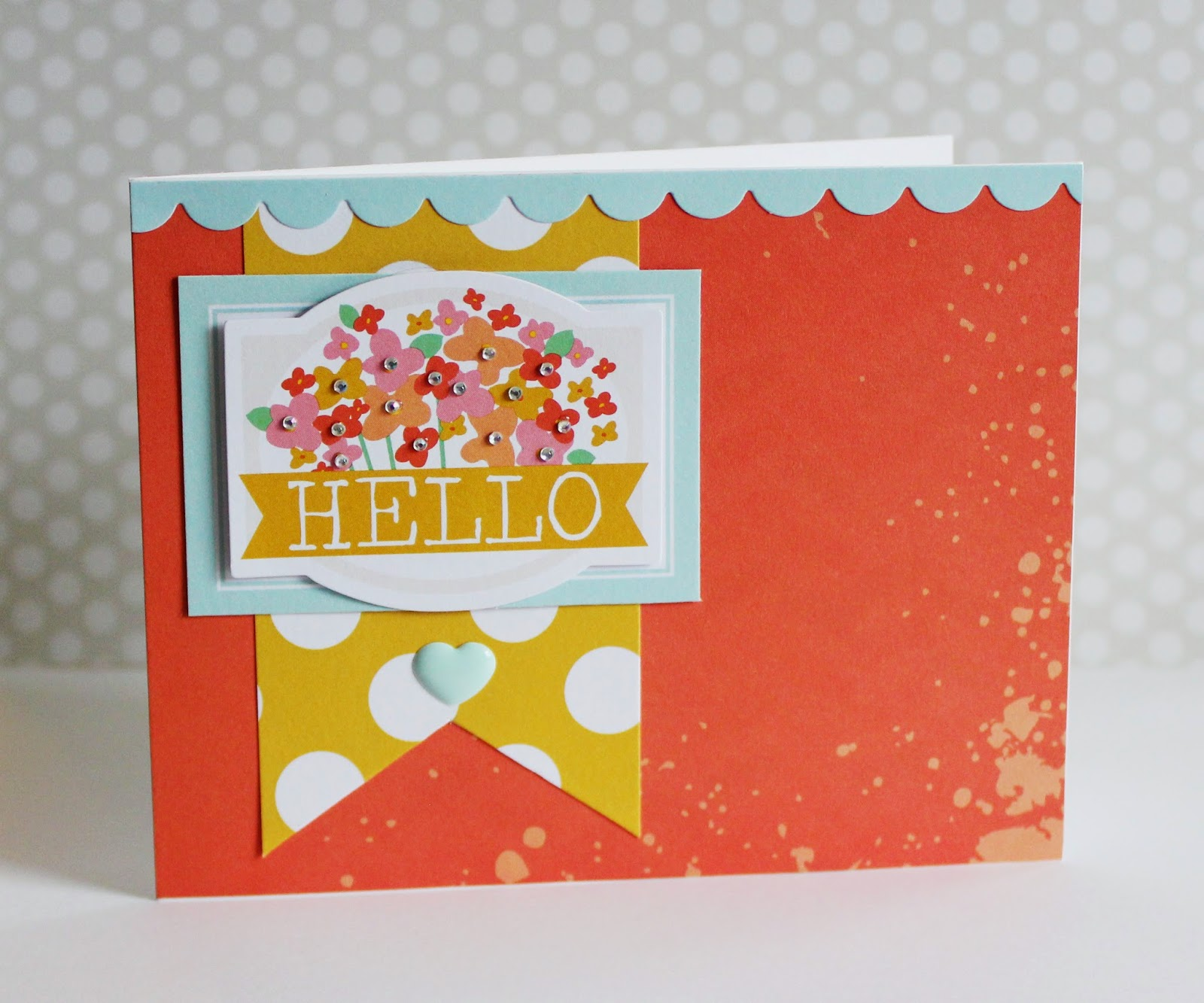 Erin Taylor Chickaniddy Crafts Color Challenge Card 2