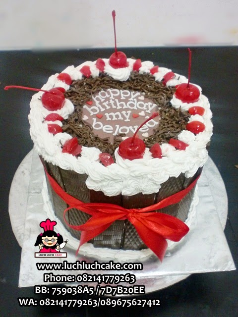 Kue Tart Blackforest For Your Beloved One Daerah Surabaya - Sidoarjo