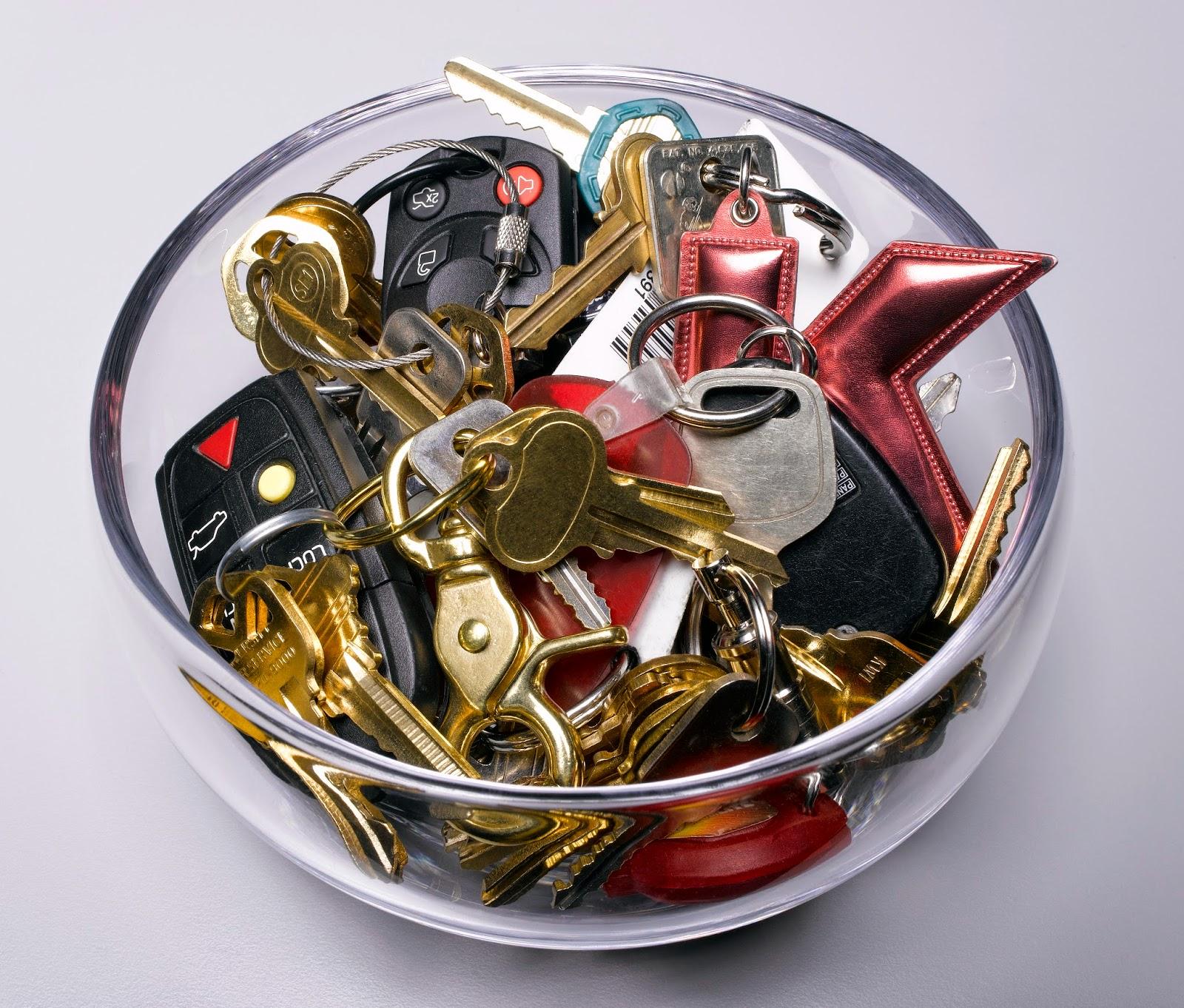 Bowl of keys