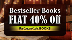 Buy Books at cheapest price : All books at upto 30% + 40% off