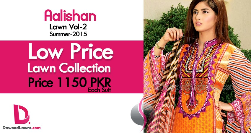 Aalishan Lawn Vol-2 by Dawood