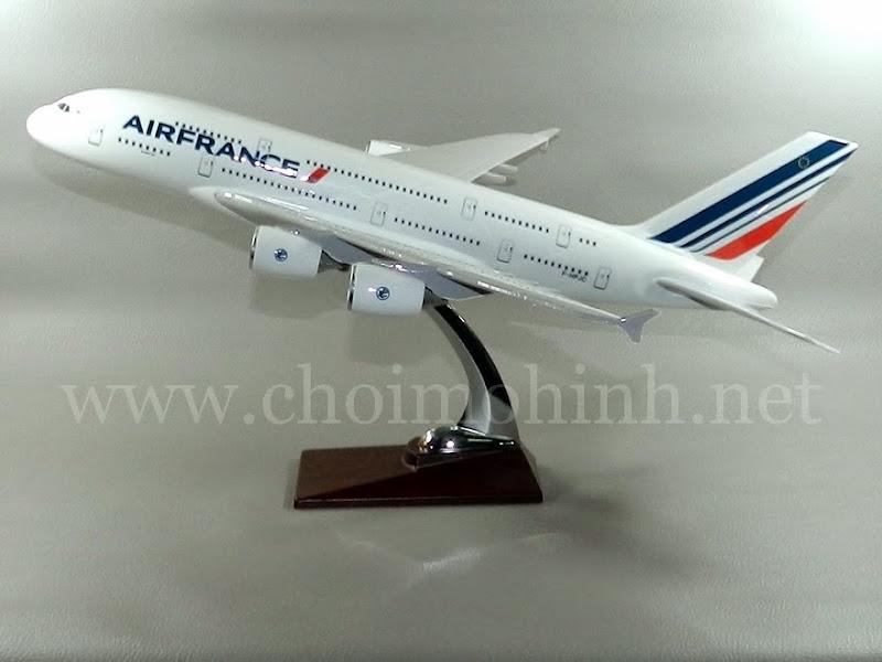 Mô hình máy bay dân dụng Air France Airbus A380