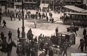 barcelona paralizada huelga 1917