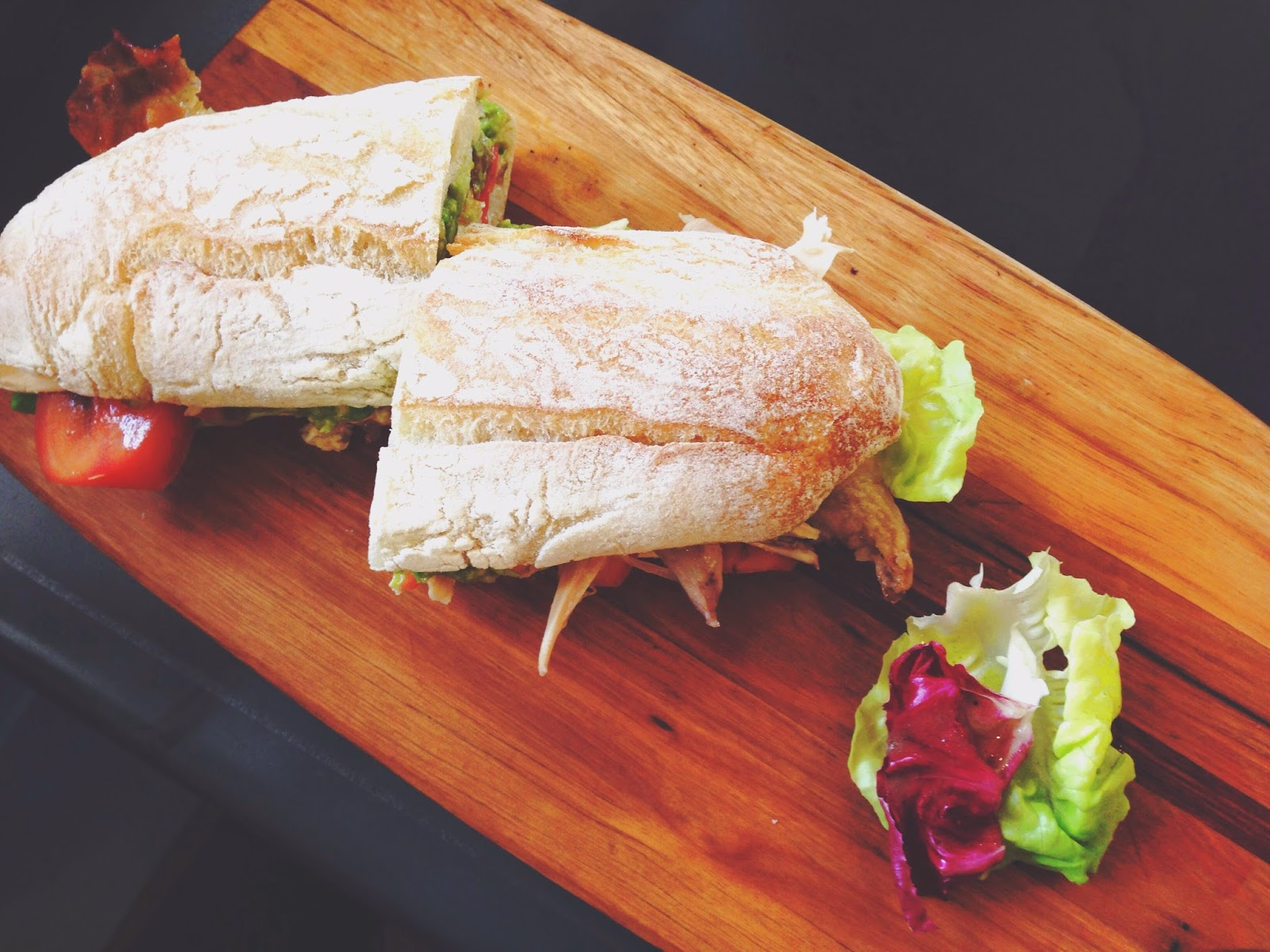 The Lokal Neil Road Singapore Roast Chicken Panini