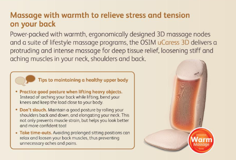 A short brief introduction on the OSIM uCaress 3D device