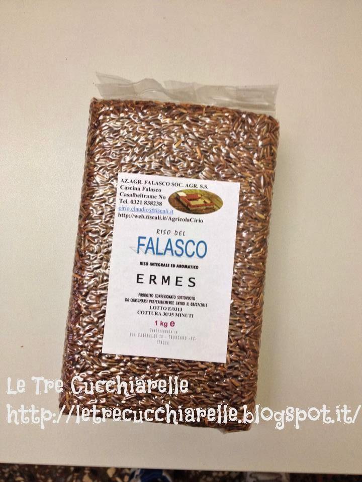 Timballini di riso Ermes dell'azienda agricola Falasco con un cuore cremoso