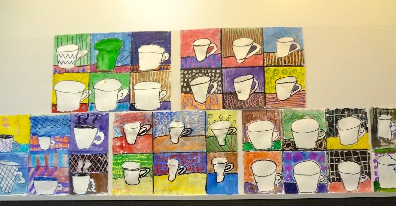 The Talking Walls: Pop Art Lesson with 3rd Grade